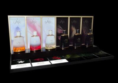 L'Arc Parfums POS Tester Stand
